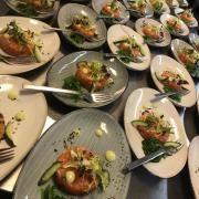 Walking dinner zalm tartaar